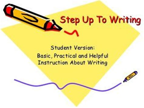 Example of informal essay writing